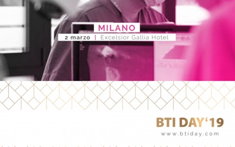Il Dott. Gambardella relatore presso il BTI Day 2019