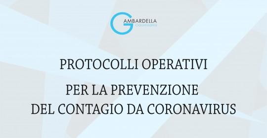 Ecco le disposizioni attuate in studio per la prevenzione del contagio da Coronavirus