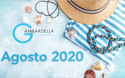 I nostri orari e contatti attivi ad agosto 2020